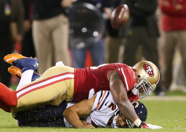 Bears Buried by the Niners 32-7 to Fall Into First Place Tie wi…