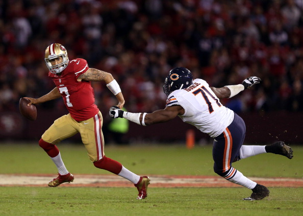 Photo Gallery of the Bears Monday Night Loss to the Niners